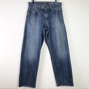 Levi's SilverTab Baggy 100% Cotton Faded Denim Jeans Size 32x32